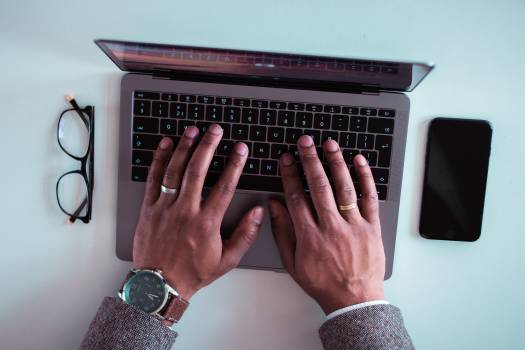 Keyboard Hand Computer #278169