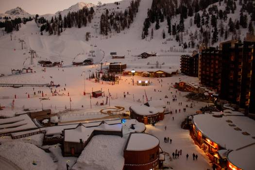 Mountain Alp Snow #279069