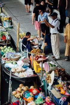 Seller Food Shop Free Photo