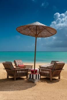 Beach Parasol Sea #280573