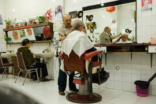 Barbershop Shop Mercantile establishment Free Photo