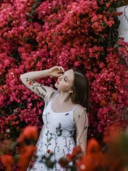 Cover girl Portrait Happy #281686