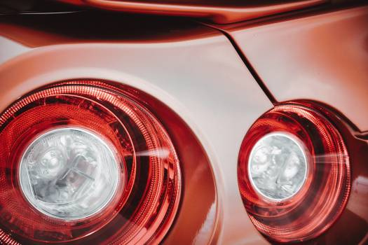 Headlight Car Automobile Free Photo