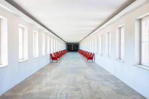 Interior Basement Hall Free Photo