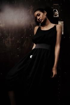 Sexy Model Black Free Photo