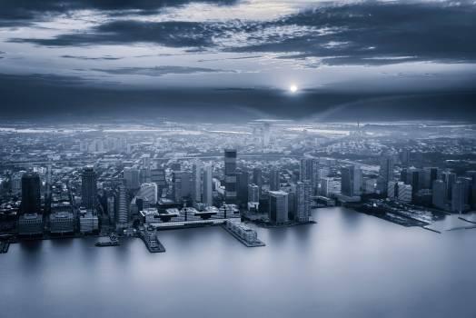 Waterfront City Night #284173