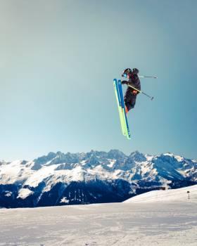 Ski Snow Skier #284348