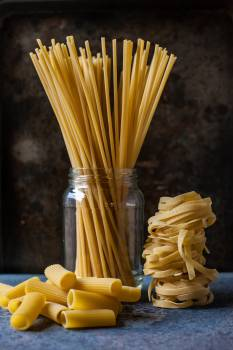 Pasta Yellow Food Free Photo