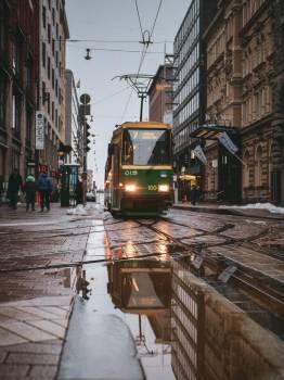 Streetcar Conveyance Tramway Free Photo