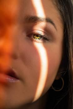 Face Portrait Model Free Photo