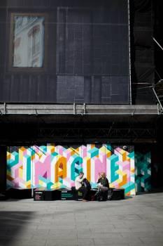 Flag Emblem Graffito Free Photo