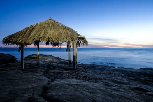 Beach Hovel Sea #288059