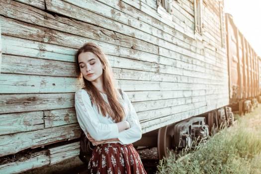 Rustic Pretty Happy Free Photo