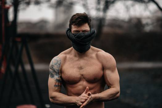 Muscular Person Man Free Photo