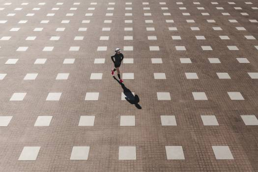 Pattern Check Sidewalk Free Photo
