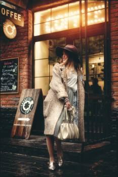 Fur coat Coat Garment #290293