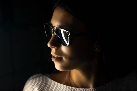 Sunglass Sunglasses Face Free Photo