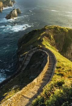 Ocean Cliff Sea Free Photo