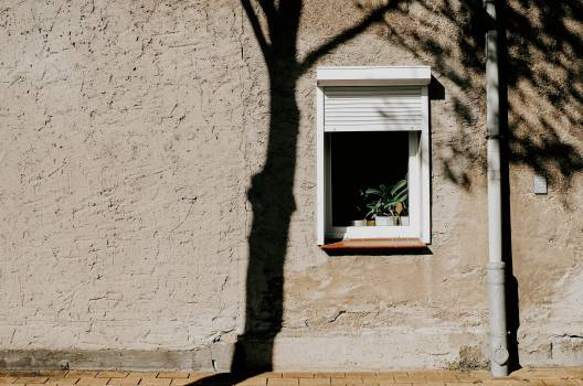 Stucco Brick Window Free Photo