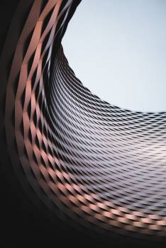 Digital Curve Wallpaper Free Photo