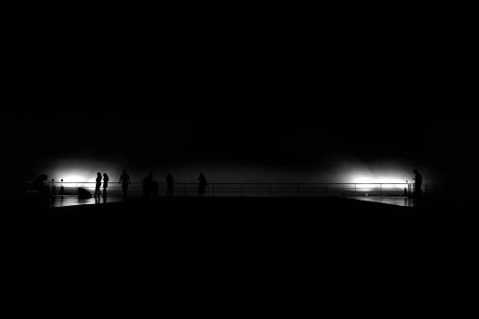 Smoke City Sunset Free Photo