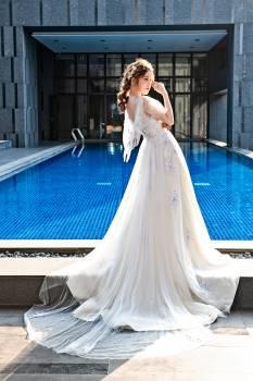 Groom Bride Dress Free Photo