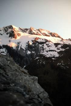 Line Mountain Snow Free Photo