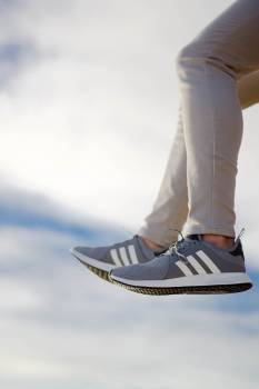 Leg Fink Shoes Free Photo