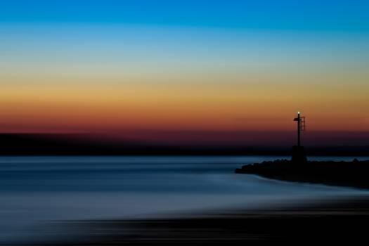 Beacon Sunset Sea #299296