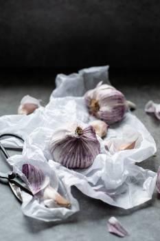 Garlic Food Vegetable Free Photo