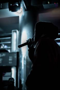 Man Gun Microphone Free Photo