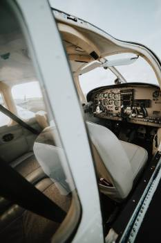 Cockpit Car Seat Free Photo