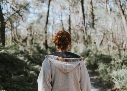 Cloak Covering Portrait Free Photo