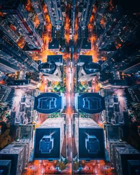 Intersection City Cityscape #305599