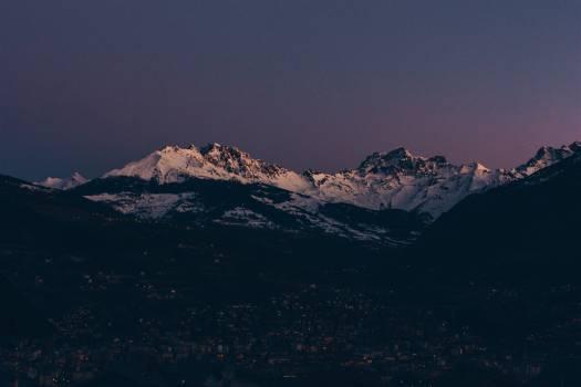 Range Mountain Snow #305639