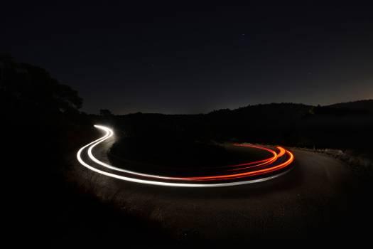 Expressway Motion Curve Free Photo