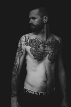 Tattoo Model Body Free Photo