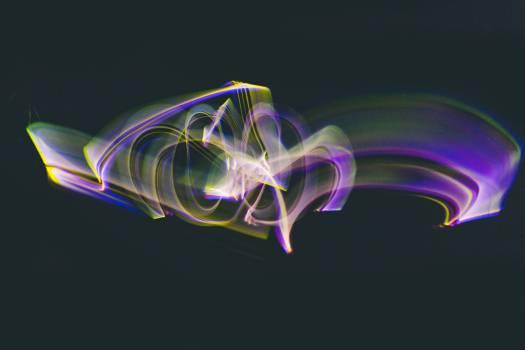 Plasma Foil Art Free Photo