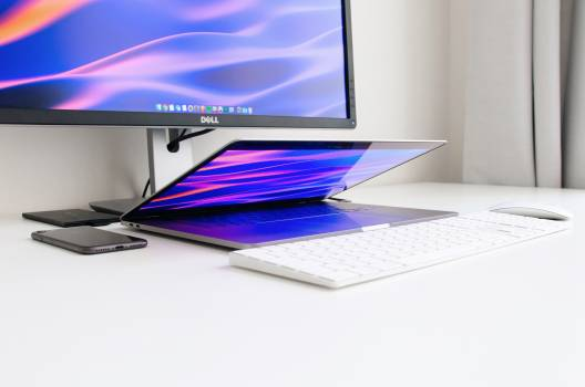 Notebook Computer Monitor Free Photo