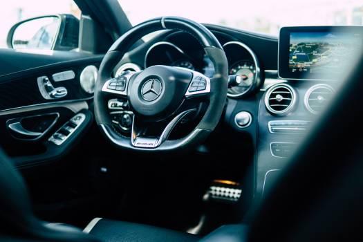 Steering wheel Control Control panel Free Photo