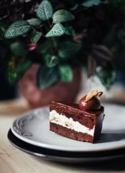 Dessert Food Plate Free Photo
