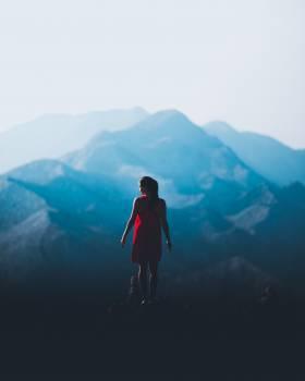 Mountain Hiking Adventure Free Photo