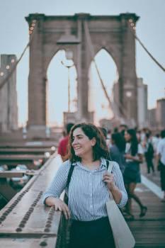 Tourist Traveler Person Free Photo