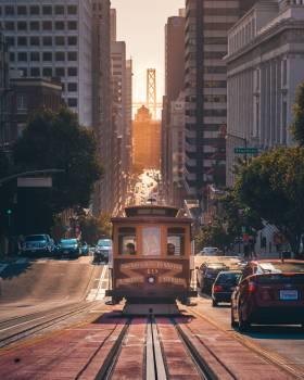 Tramway Conveyance City Free Photo
