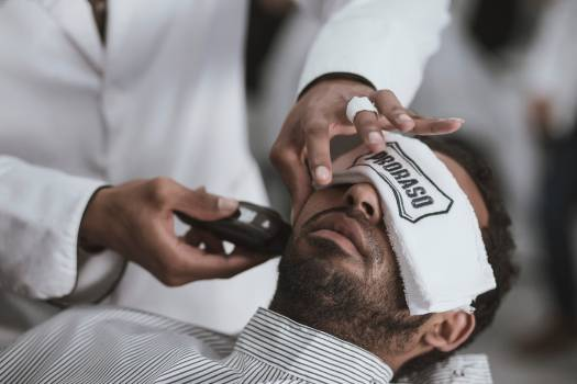 Barbershop Rugby ball Man Free Photo