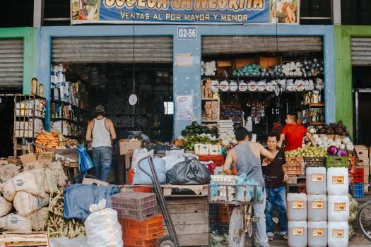 Stall Shop Mercantile establishment Free Photo