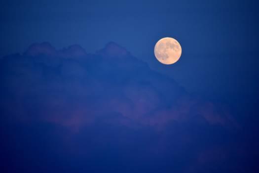 Moon Sky Satellite #315648