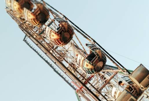 Crane Ferris wheel Ride Free Photo