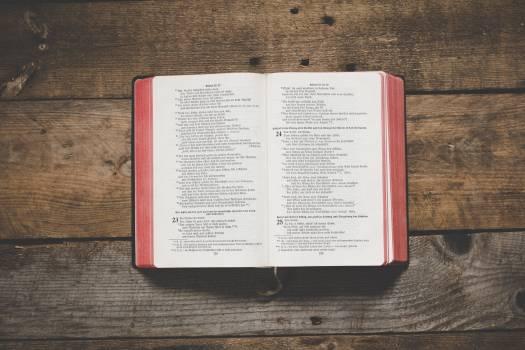 Book Religion Bible Free Photo