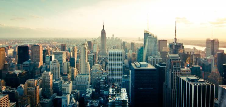 Skyline buildings new york skyscrapers #31915
